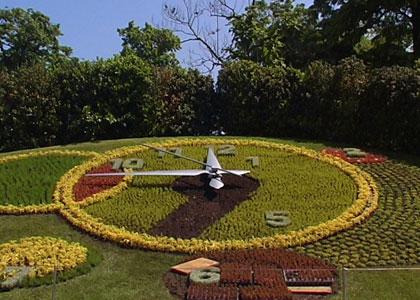 Le jardin anglais et l 39 horloge fleurie gen ve for Jardin anglais neuchatel